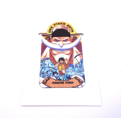 Pince / presse-papier aimantée - One Piece - 20th anniversary - Marine Ford - Shiro Hige & Luffy
