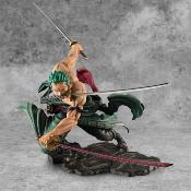 Statuette - One Piece PVC Portrait Of Pirates SA-MAXIMUM Roronoa Zoro San Zen Se Kai !!! Ver. 21 cm
