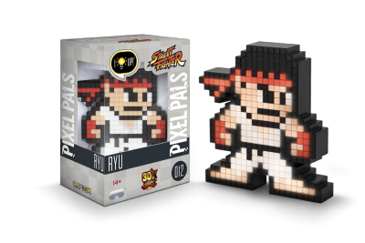 Lampe - Pixel Pals - Street Fighter - Ryu