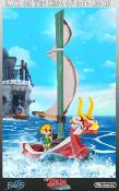 Statuette - The Legend Of Zelda : The  Windwaker - Link on the king red lions - 64 cm