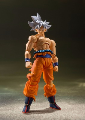 Figurine - Dragon Ball Super - S.H. Figuarts - Son Goku Ultra Instinct - 14 cm