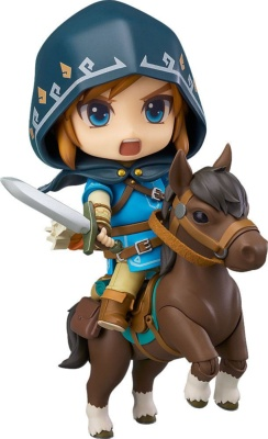 Figurine - The Legend Of Zelda : Breath Of The Wild - Link Deluxe Edition - Nendoroid - 10 cm