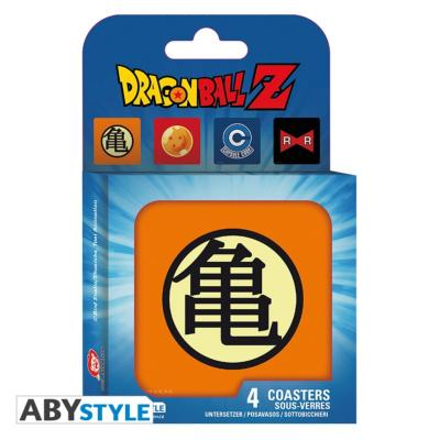 Sous-verres - Dragon Ball Z - Set de 4 symboles