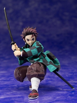 Figurine - Demon Slayer: Kimetsu no Yaiba -1/12 - Tanjiro Kamado - 14 cm