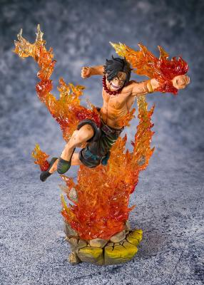 Figurine - One Piece - FiguartsZERO - Portgas D. Ace - Commander of the 2nd Division