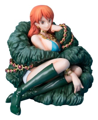 Figurine - One Piece - Nami - 20th anniversaire - Figuarts ZERO - 8 cm