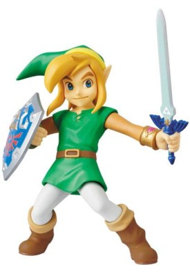 The Legend of Zelda A Link Between Worlds mini figurine Medicom UDF Link 7 cm