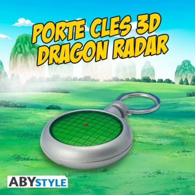 Porte-Clés - Dragon Ball Z - Premium 3D - Dragon Radar