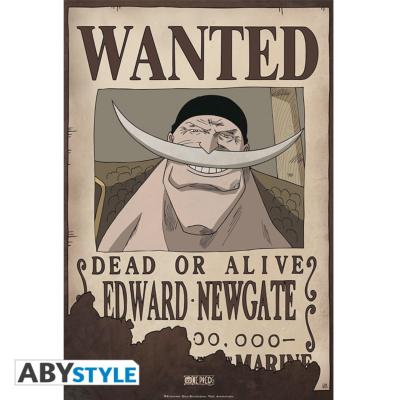 Poster - One Piece - Edward Newgate Wanted - 52x35 cm