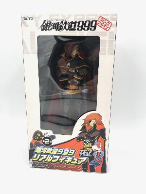 Figurine - Galaxy Express 999 - Real Figure Vol.2 - Albator ( Harlock ) - 25 cm