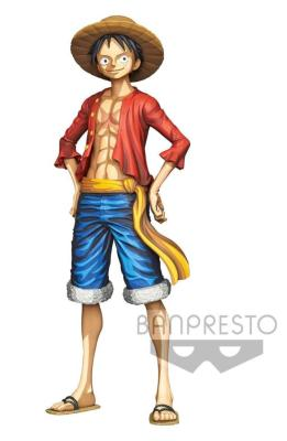 Figurine - One Piece - Monkey D. Luffy - Grandista - Manga Dimensions - 27 cm