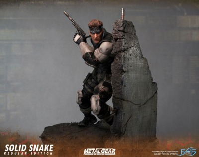 Statuette - Metal Gear Solid - Solid Snake - 44 cm