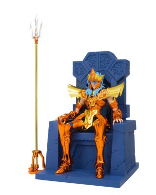 Figurine - Saint Seiya - Myth Cloth EX - Julian Solo - Poseidon - Imperial Throne Set