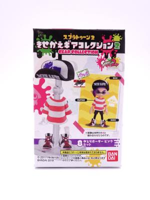 Tenue - Splatoon 2 - Gear Collection - Clear border set (pink)