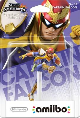 Amiibo - Captain Falcon - N°18