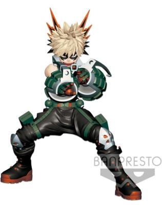 Figurine - My Hero Academia - Enter The Hero - Katsuki Bakugou - 16 cm