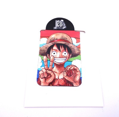 Pince / presse-papier aimantée - One Piece - 20th anniversary - Luffy