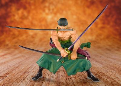 Figurine -One Piece statuette PVC FiguartsZERO Pirate Hunter Zoro 11 cm