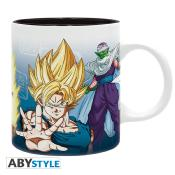 Mug - Dragon Ball Z - Sayans & Piccolo - 320 ml