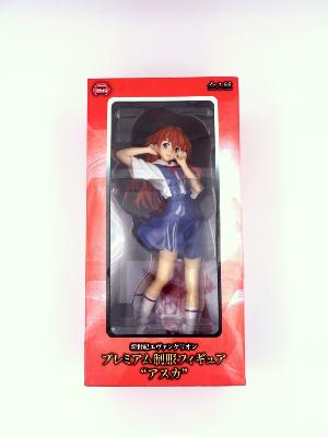 Figurine - Evangelion - Asuka Langley - School Uniform - Premium Figure - 21 cm