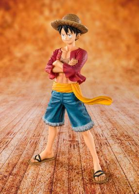 Figurine - One Piece statuette PVC FiguartsZERO Straw Hat Luffy 14 cm