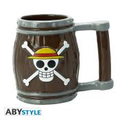 Mug 3D - One Piece - Tonneau - 350 ml