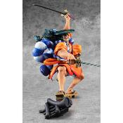 [PRECOMMANDE] Statuette - One Piece - P.O.P. Warriors Alliance Oden Kozuki - 21 cm
