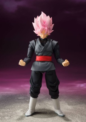Figurine - Dragon Ball Super S.H. Figuarts Goku Black Tamashii Web Exclusive 18 cm