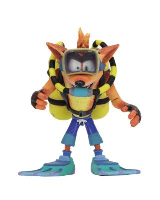 Figurine - Crash Bandicoot Deluxe Scuba Crash 14 cm