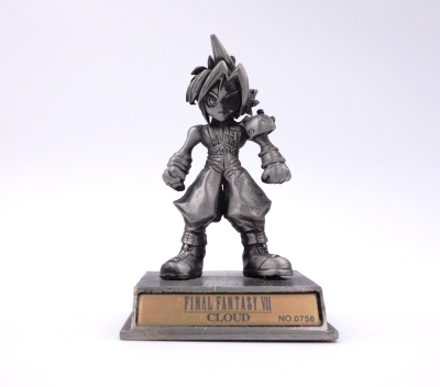 Figurine Chrome - Final Fantasy VII Cloud #0756