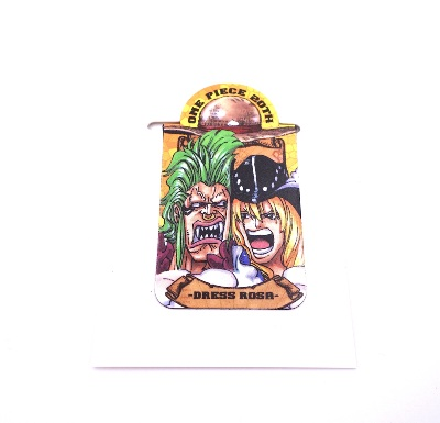 Pince / presse-papier aimantée - One Piece - 20th anniversary - Dress Rosa - Bartolomeo & Cavendish