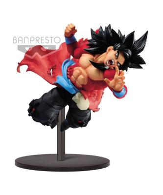 Figurine - Super Dragon Ball Heroes - Super Saiyan 4 Son Goku Xeno 9th Anniversary - 14 cm