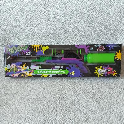Pistolet à eau - Splatoon - réplique - Spla-Scope Neon Green