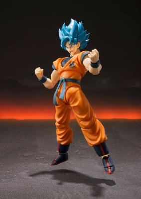 Figurine - Dragon Ball Super Broly - S.H. Figuarts - Super Saiyan God SS Goku Super - 14 cm
