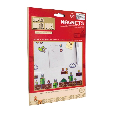 Aimants - Nintendo - Pack de 80 aimants Super Mario Bros