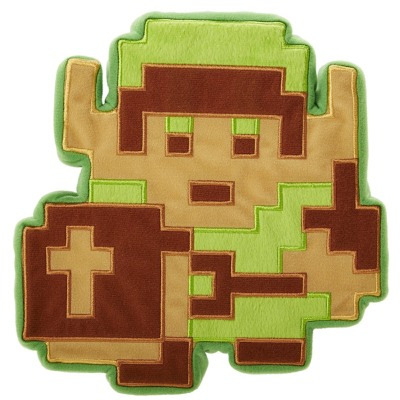 Peluche / Coussin - World Of Nintendo - Link - 8 bits