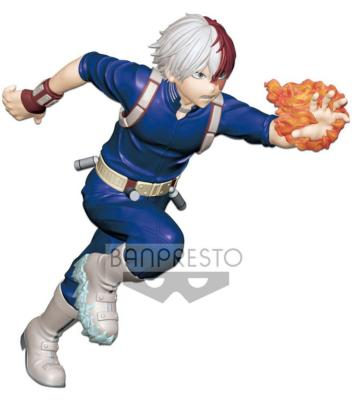 Figurine - My Hero Academia - Enter The Hero - Shoto Todoroki - 15 cm