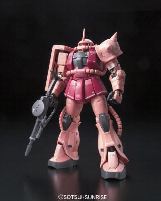 Maquette - GUNDAM - Model Kit - RG  Zaku II - MS-06S 1/144 - 13 cm