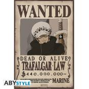 Poster - One Piece - Law Wanted - 52x35 cm
