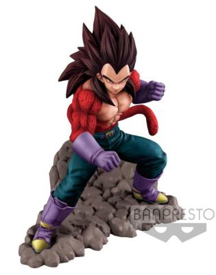 Figurine - Dragon Ball Z - Dokkan Battle - Super Saiyan 4 Vegeta - 16 cm