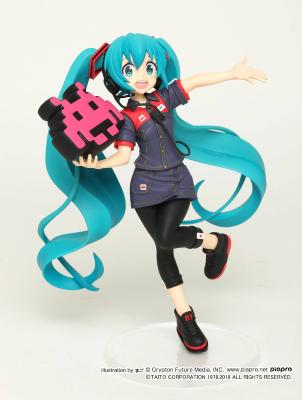 Figurine - Vocaloid - Hatsune Miku - Taito Uniform Version 2 - 18 cm