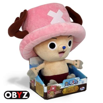 Peluche - One Piece - Chopper - à fonction vibrante - 30 cm