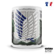 Mug - Attack On Titan - Scouts Alliance - 325 ml