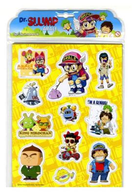 Aimants - Dr Slump - Set de 11 aimants ( pack B )