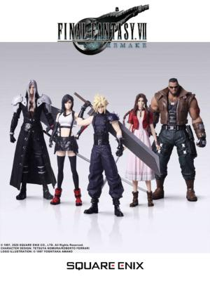 Figurines - Final Fantasy VII Remake - Pack de 5 - Trading Arts