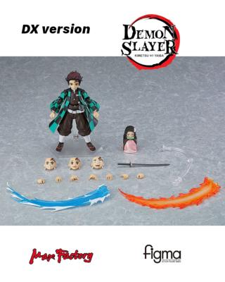 [PRECOMMANDE] Figurine - Demon Slayer: Kimetsu no Yaiba - Figma - Tanjiro Kamado DX Edition - 13 cm