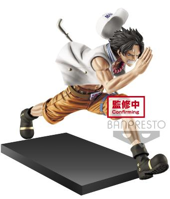 Figurine - One Piece - Magazine A Piece Of Dream Vol. 1 - Portgas D. Ace - 13 cm