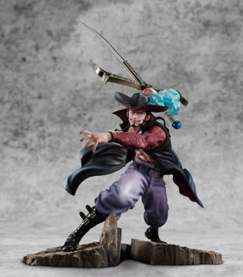 [PRECOMMANDE] Statuette - One Piece - P.O.P. - Neo Maximum - Hawk-Eye Dracule Mihawk - 34 cm