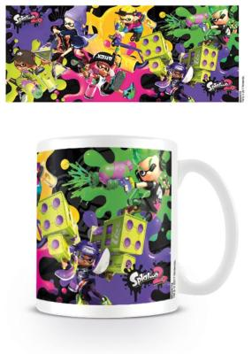 Mug - Splatoon 2 - Splat Attack - 300 ml