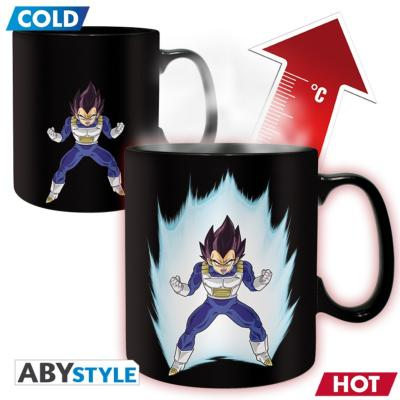 Mug - Dragon Ball Z - Thermeoréactif - Vegeta - 460 ml